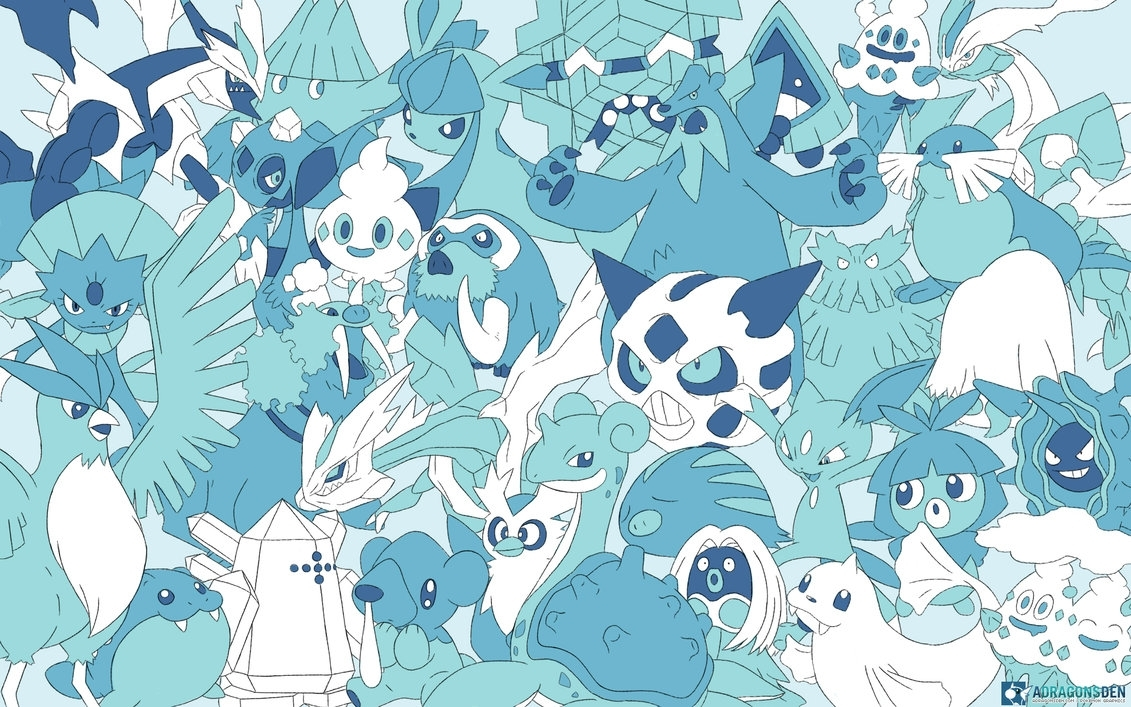every ice pokemon wallpaperlvstarlitsky on deviantart | pokemon