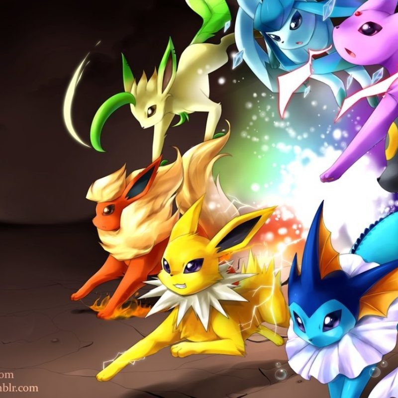 10 Top Pokemon Eevee Evolutions Wallpaper FULL HD 1920×1080 For PC Background 2018 free download evolutionjiayi on deviantart 1 800x800