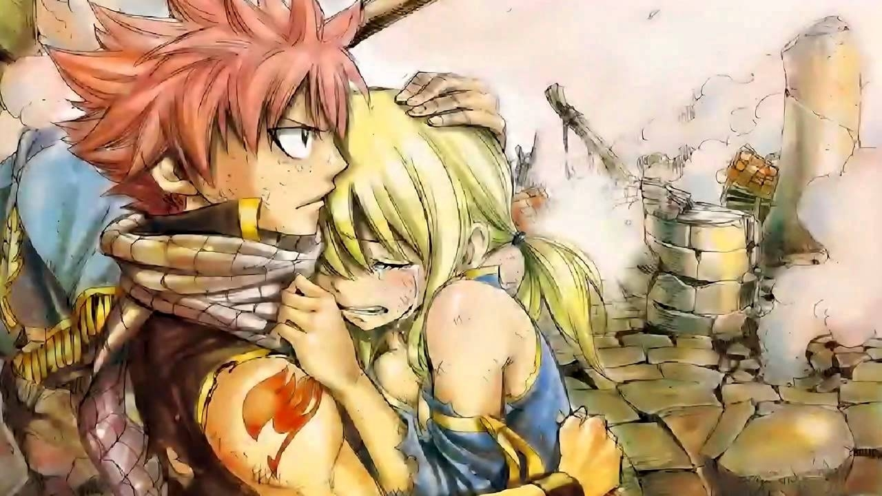 fairy tail movie natsu x lucy wallpaper [hd] clean + dl - youtube