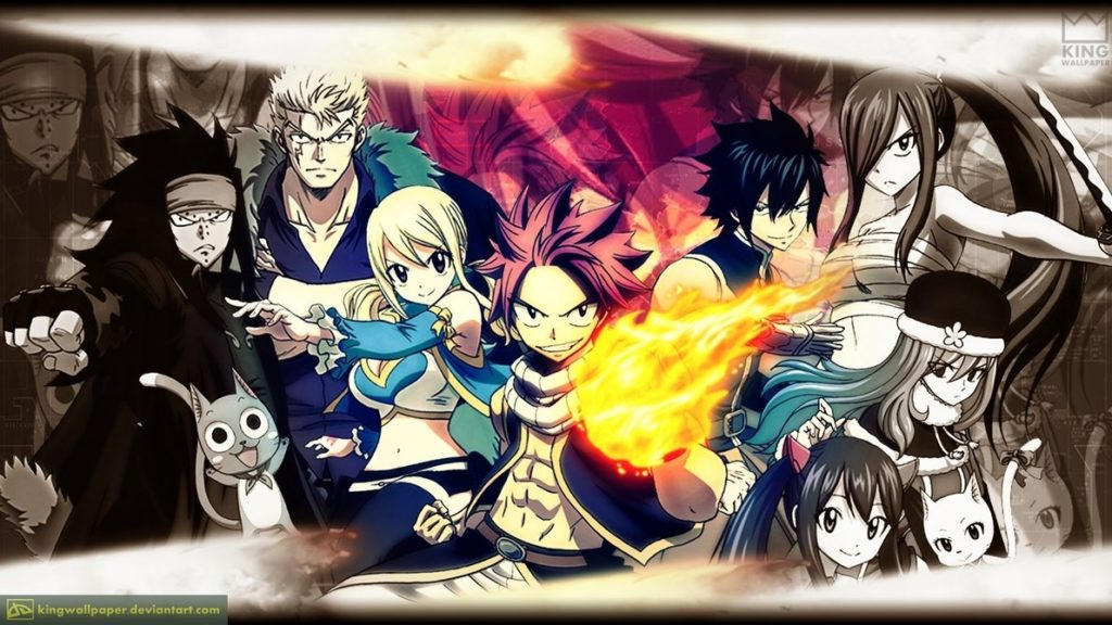 10 Best Fairy Tail Wallpaper 1920X1080 FULL HD 1080p For PC Desktop 2018 free download fairy tail wallpaper kingwallpaperkingwallpaper on deviantart 1024x576