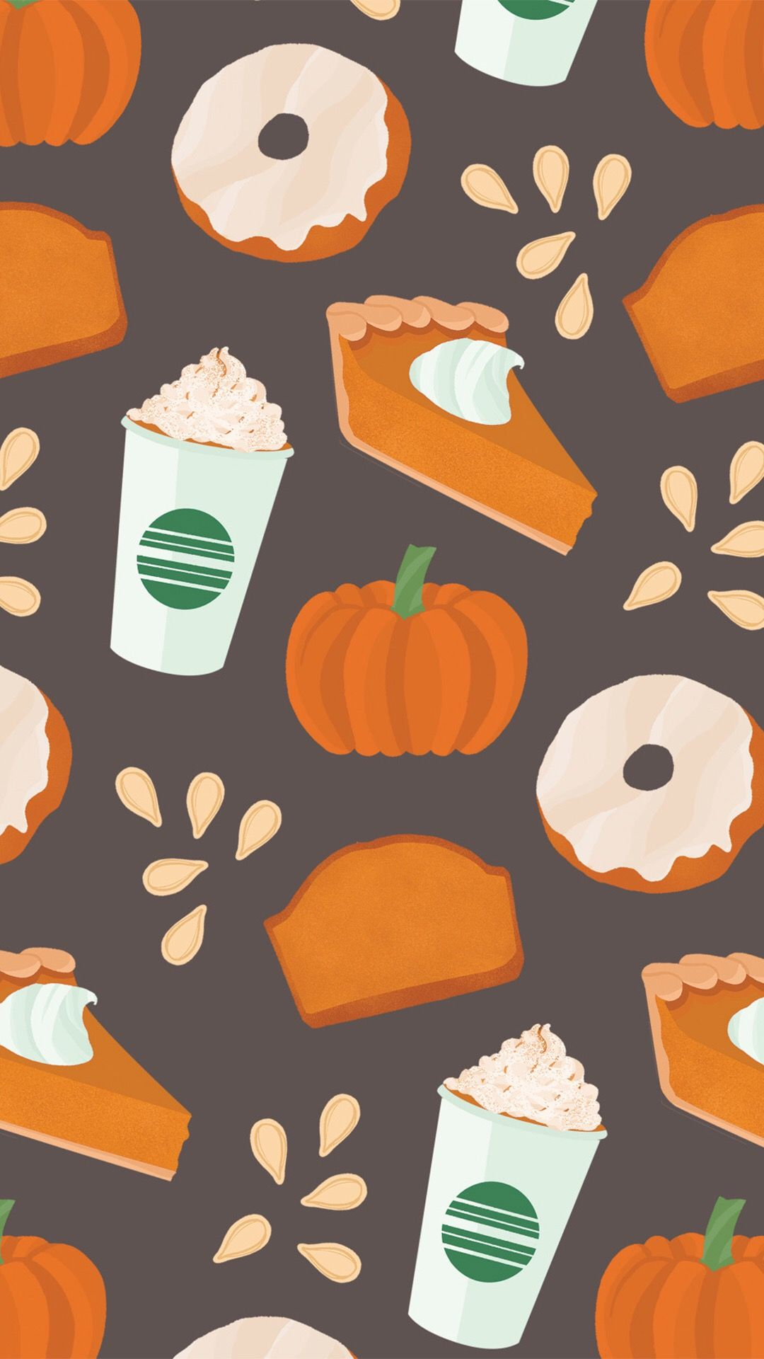 fall homescreen | all months of fall&halloween | iphone wallpaper