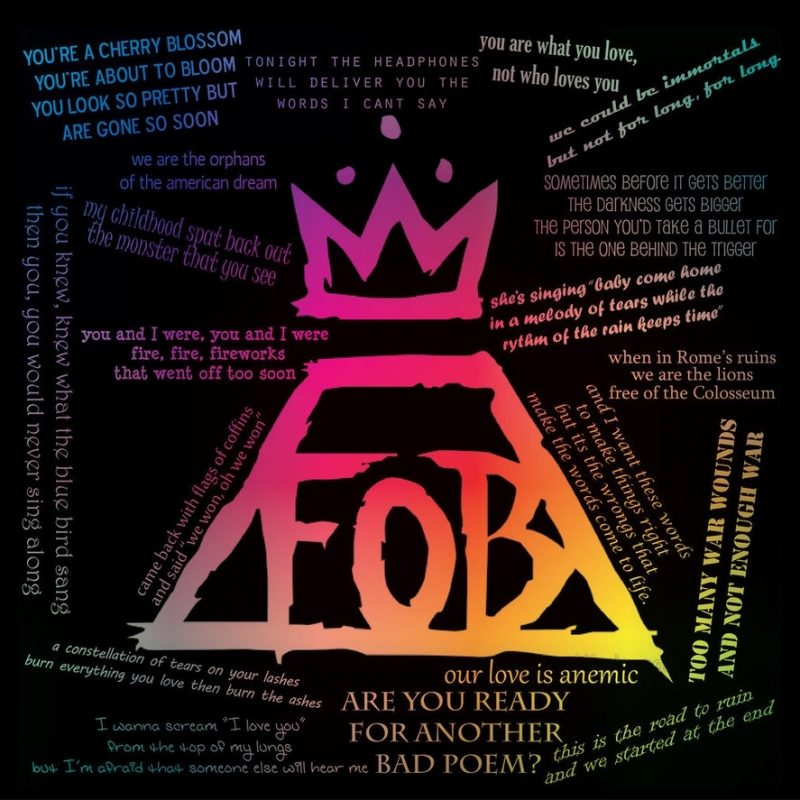 10 Top Fall Out Boy Logo Wallpaper FULL HD 1920×1080 For PC Background 2018 free download fall out boypotterfan7 on deviantart 800x800