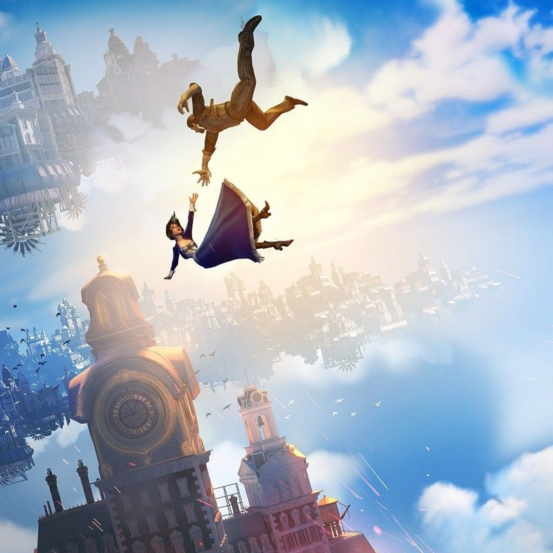 10 Best Bioshock Infinite Wallpaper Falling FULL HD 1920×1080 For PC Background 2018 free download falling bioshock infinite falling is part of the official 800x800