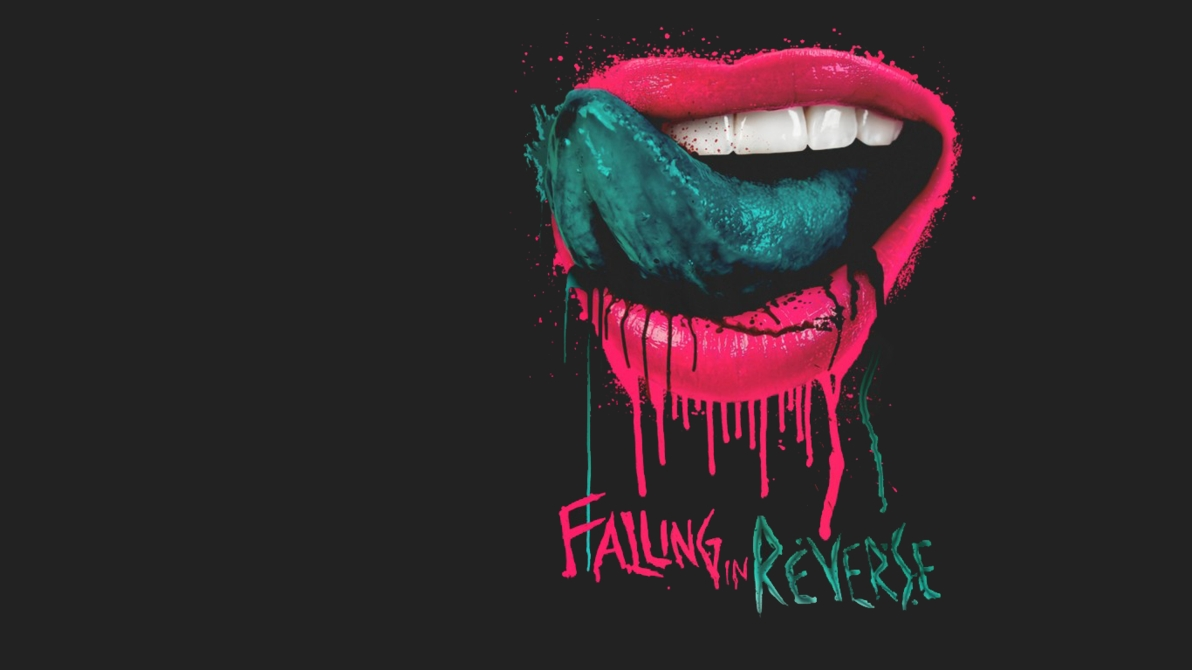 falling in reverse lips wallpaperkrsapinit on deviantart