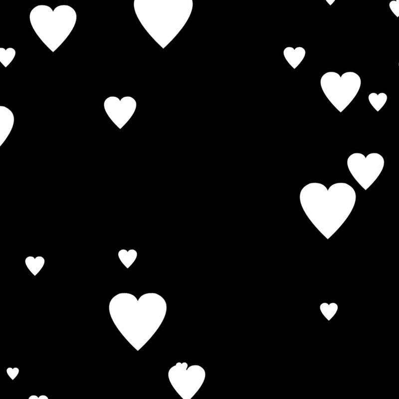 10 Most Popular Heart Background Black And White FULL HD 1920×1080 For PC Desktop 2021 free download falling white cartoon hearts over black background very easy to use 800x800