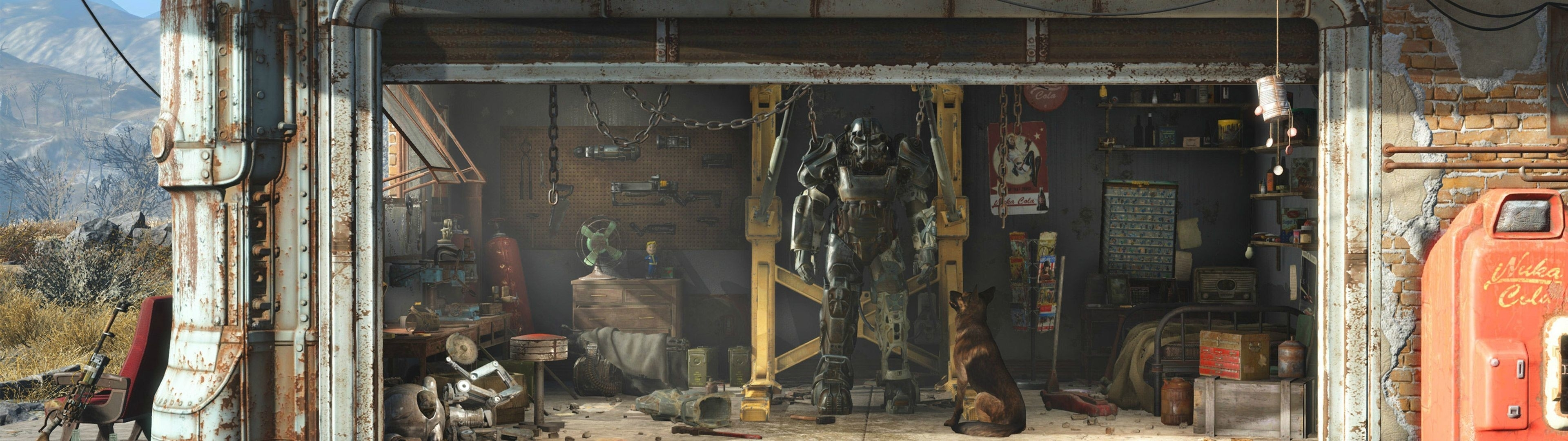 fallout 4 dual screen wallpaper (56+ images)
