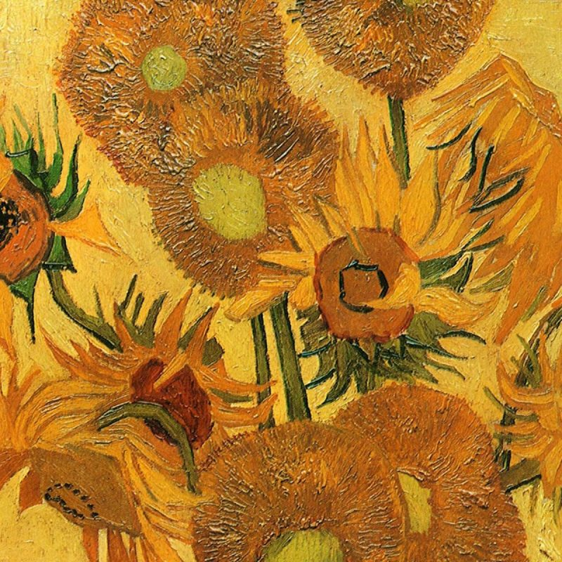 10 Best Van Gogh Sunflowers Wallpaper FULL HD 1080p For PC Background 2018 free download famous painting of vincent van gogh life vase with fifteen 800x800