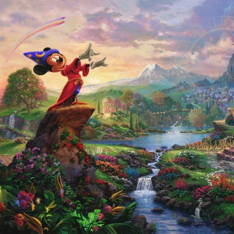 10 Latest Thomas Kinkade Disney Dreams Collection Wallpaper FULL HD 1080p For PC Background 2018 free download fantasia the thomas kinkade company 800x800