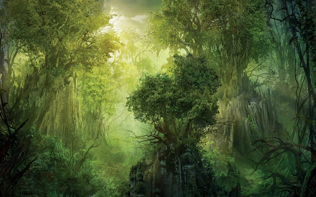10 New Fantasy Forest Wallpaper Hd FULL HD 1080p For PC Desktop 2018 free download fantasy forest backgrounds forest fantasy wallpaper 1680x1050 1024x640