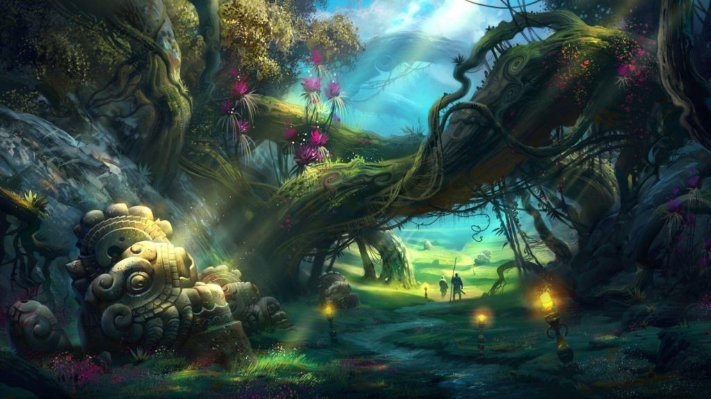 10 New Fantasy Forest Wallpaper Hd FULL HD 1080p For PC Desktop 2020 free download fantasy forest wallpapers wallpaper cave 1024x576
