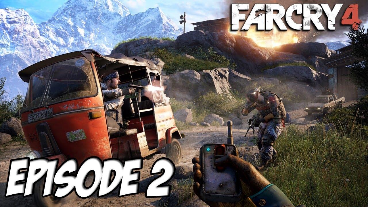 far cry 4 - l'aventure exotique | a vous de choisir ! | ep 2 - youtube