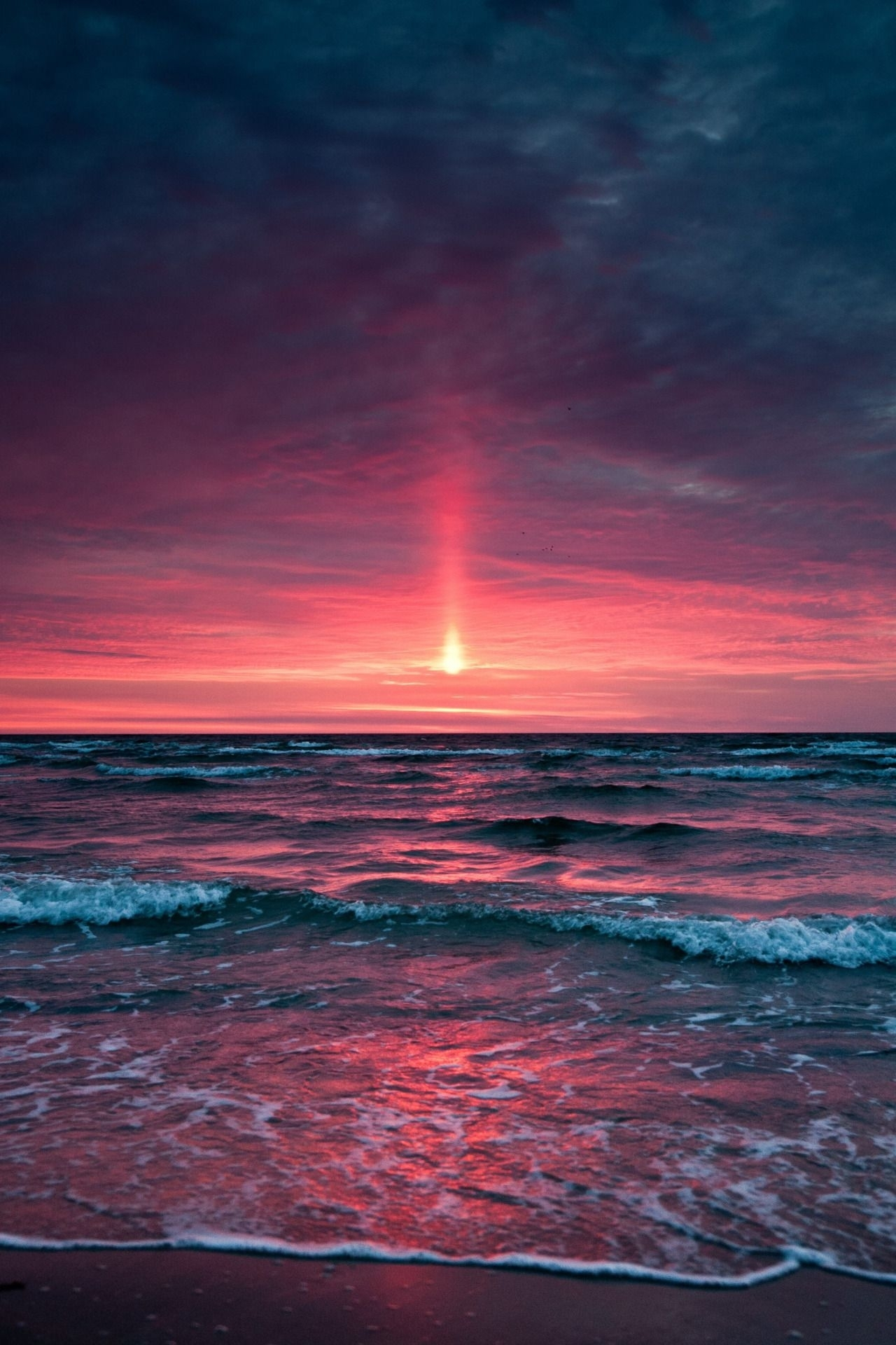 farewell letter from | ocean sunset, landscape photography and