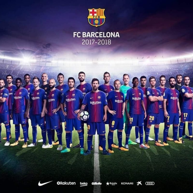 10 New Barcelona Football Club Wallpapers FULL HD 1920×1080 For PC Background 2018 free