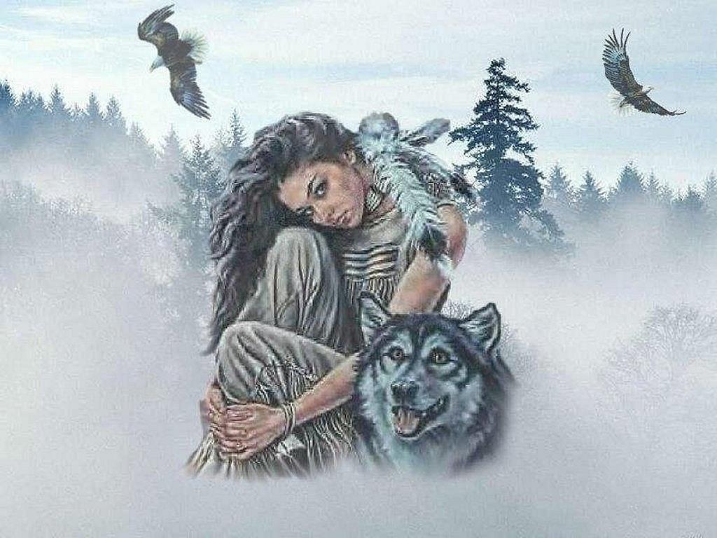femmes et loups **** | les loups et femmes ** | pinterest | native