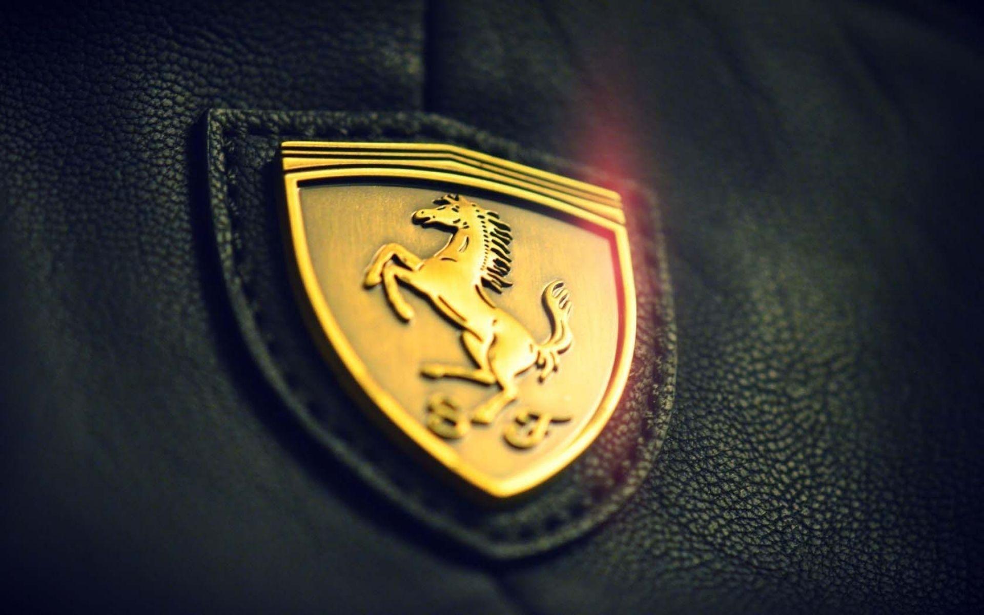 Title Ferrari Logo Wallpaper