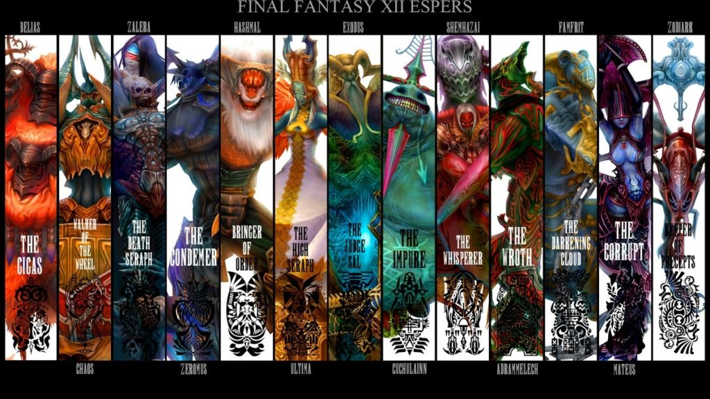 10 Best Final Fantasy Xii Wallpaper FULL HD 1080p For PC Desktop 2021 free download ffxii espers wallpaperspritesgalore on deviantart 1024x576