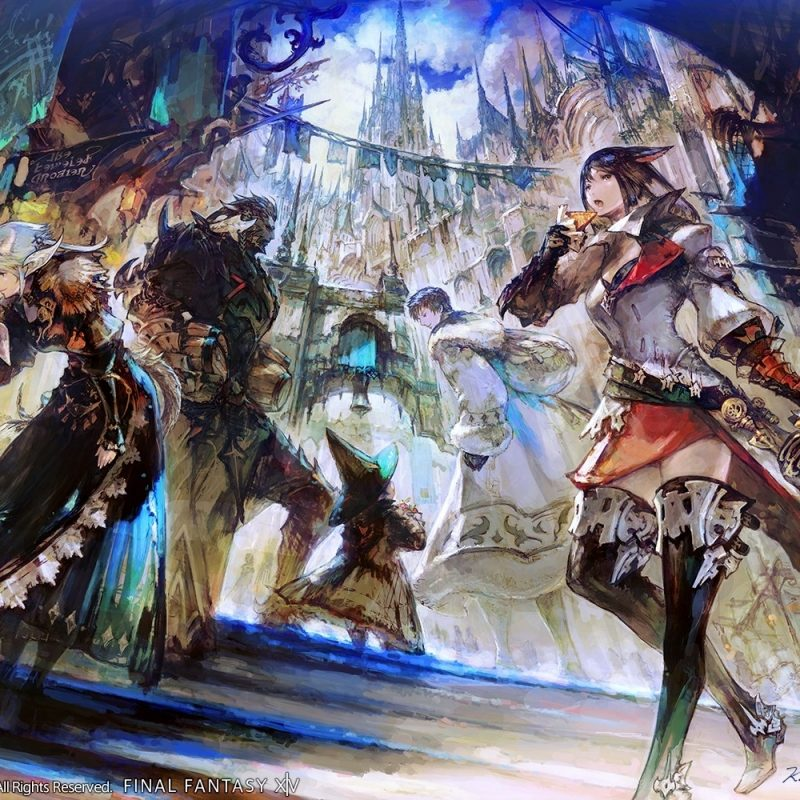 10 Top Final Fantasy 14 Backgrounds FULL HD 1920×1080 For PC Background 2018 free download ffxiv wallpapers official fan ffxiv 800x800