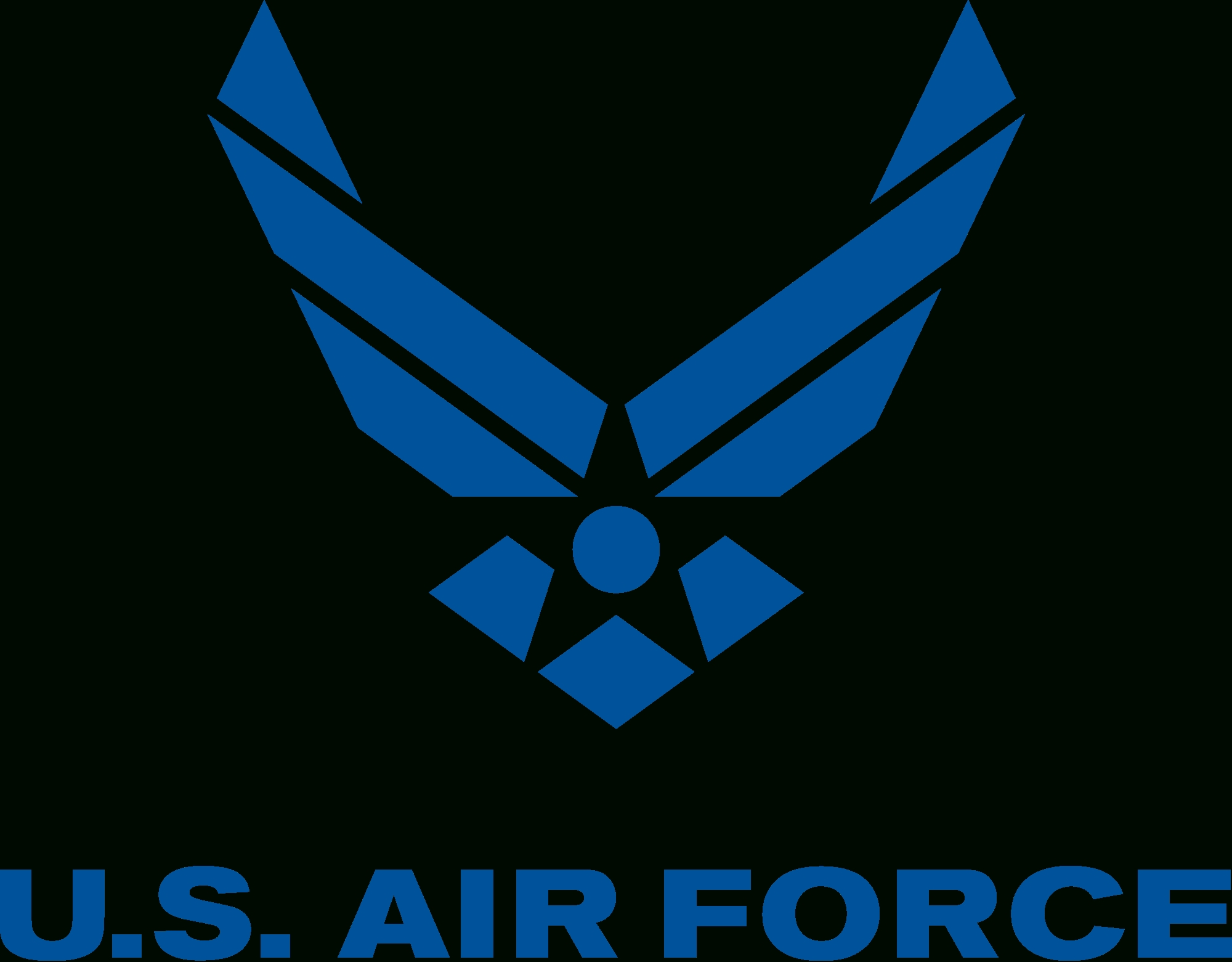 file:us air force logo solid colour.svg - wikimedia commons
