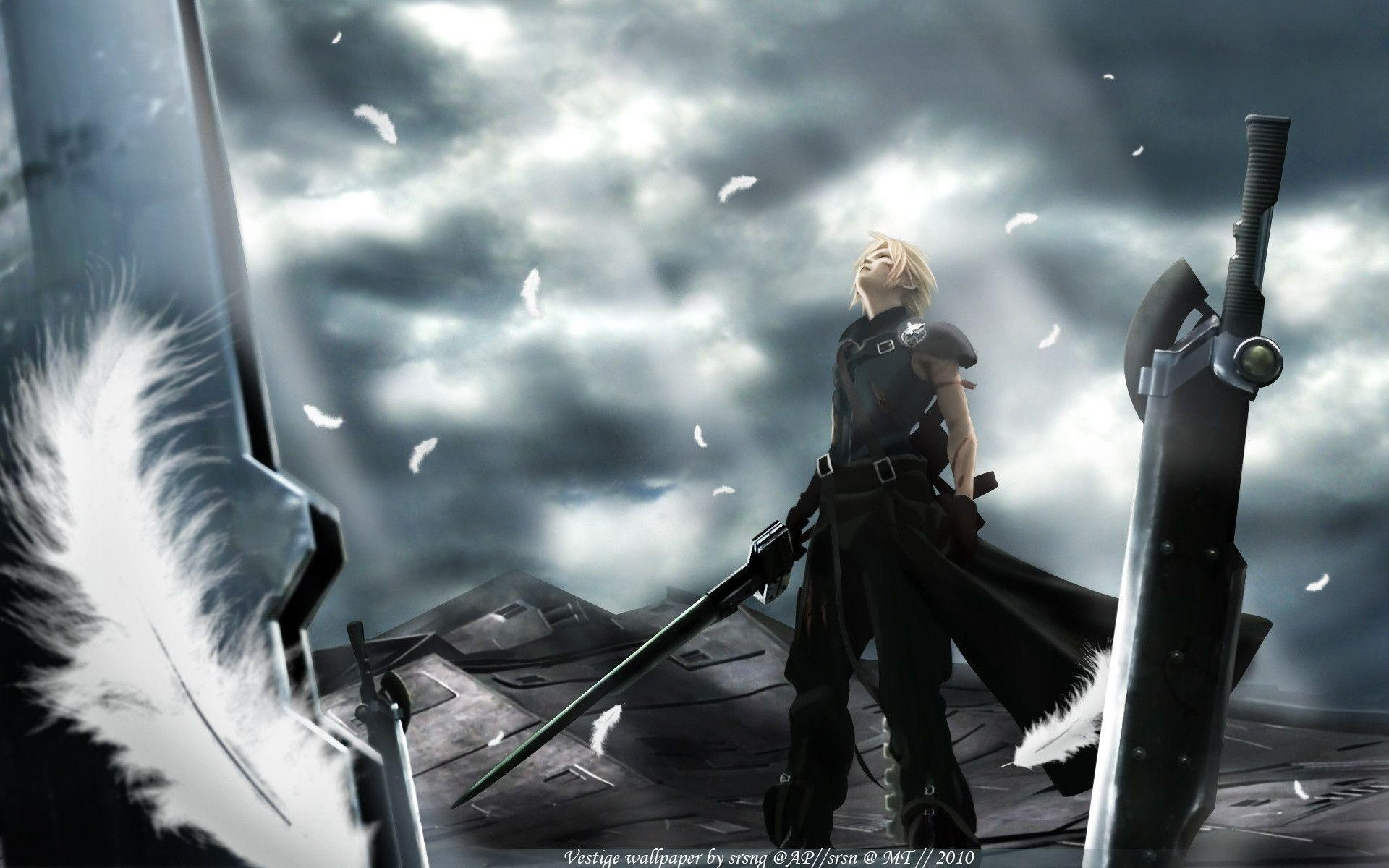final fantasy 7 advent children wallpapers - wallpaper cave