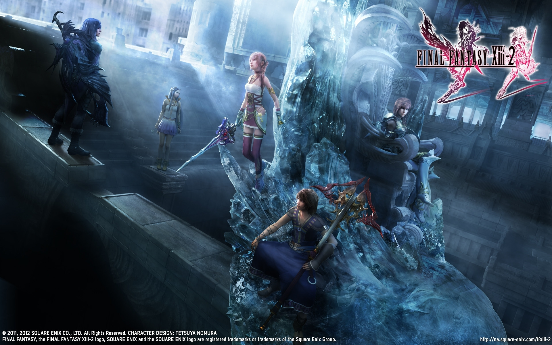 final-fantasy.ch / ff13-2 / wallpapers