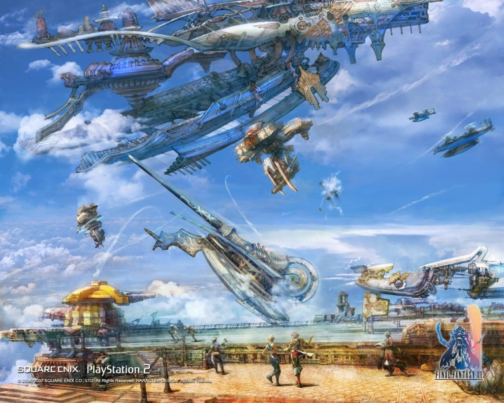 10 Best Final Fantasy Xii Wallpaper FULL HD 1080p For PC Desktop 2021 free download final fantasy xii wallpapers ashe vaan balthier fran basch 1024x819