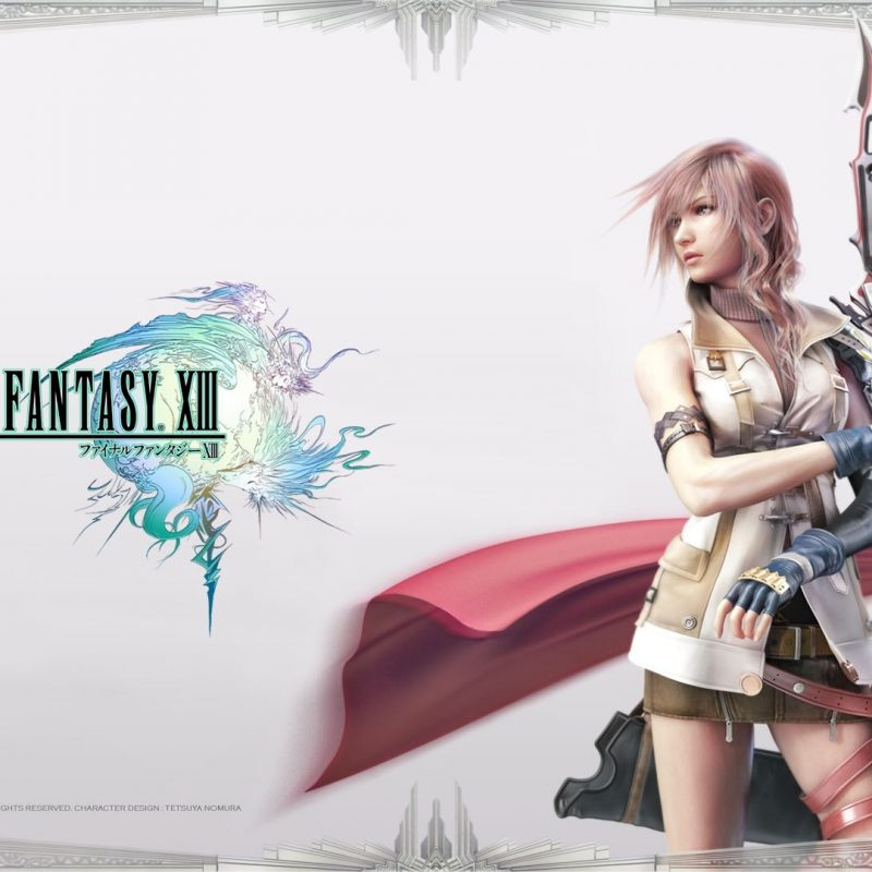 10 New Final Fantasy 13 Wallpaper 1920X1080 FULL HD 1920×1080 For PC Desktop 2020 free download final fantasy xiii k j life 1 800x800
