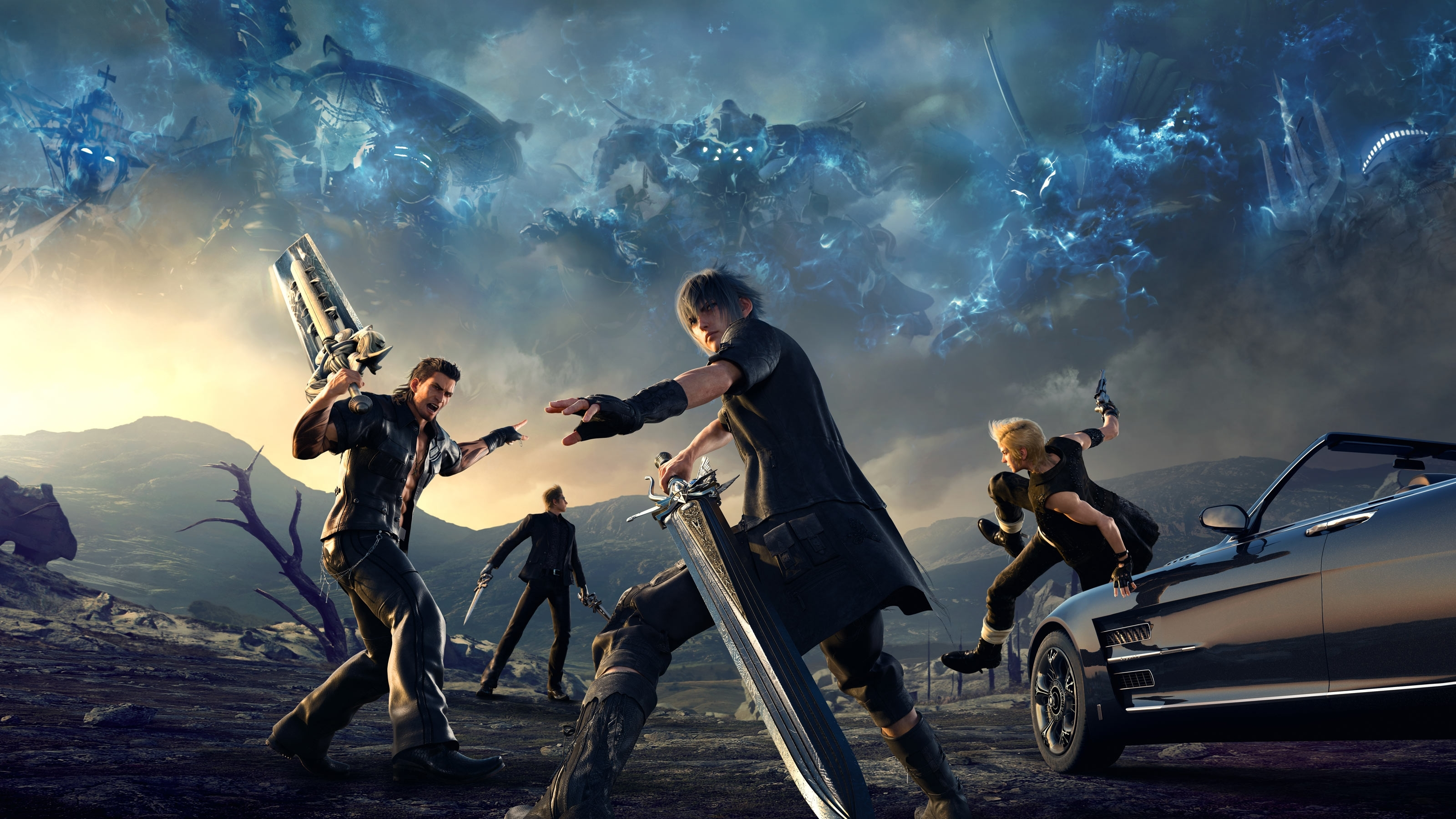 final fantasy xv full hd wallpaper and background image | 3200x1800