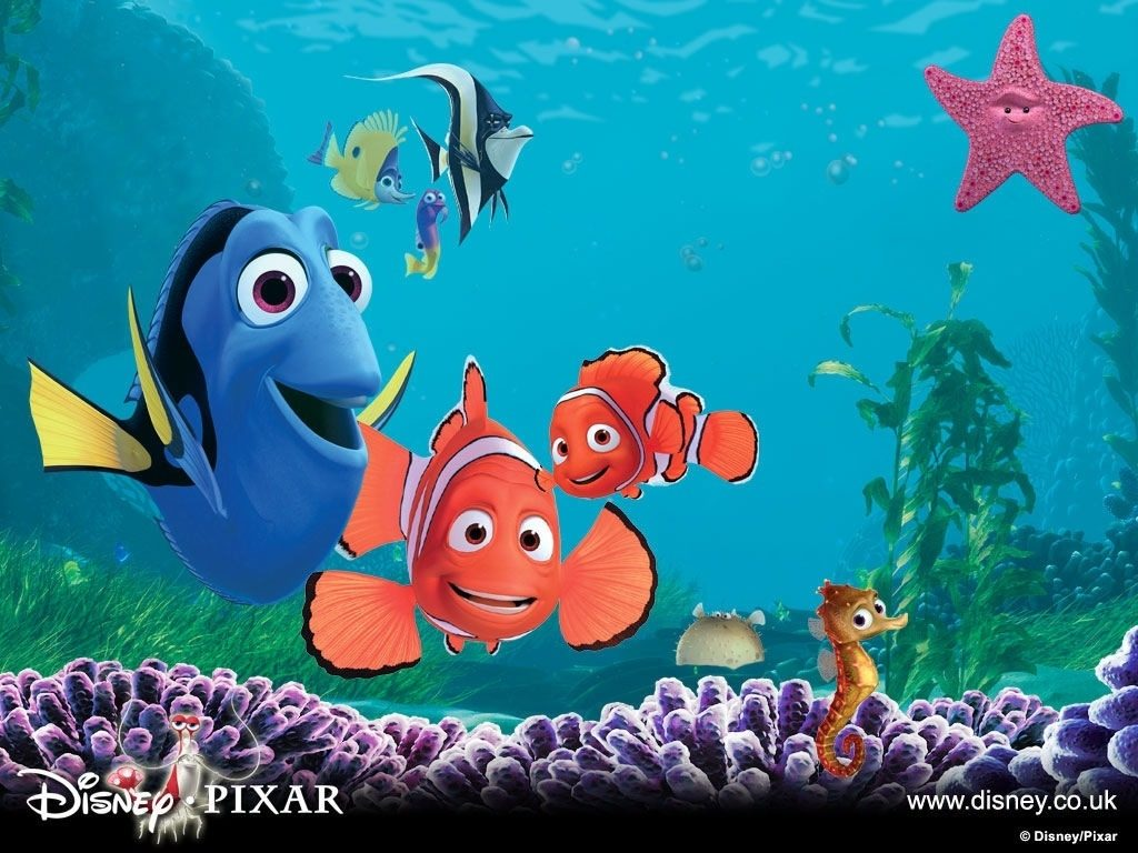 10 New Finding Nemo Wallpaper FULL HD 1080p For PC Desktop 2018 free download finding nemo wallpaper number 1 1024 x 768 pixels 1024x768