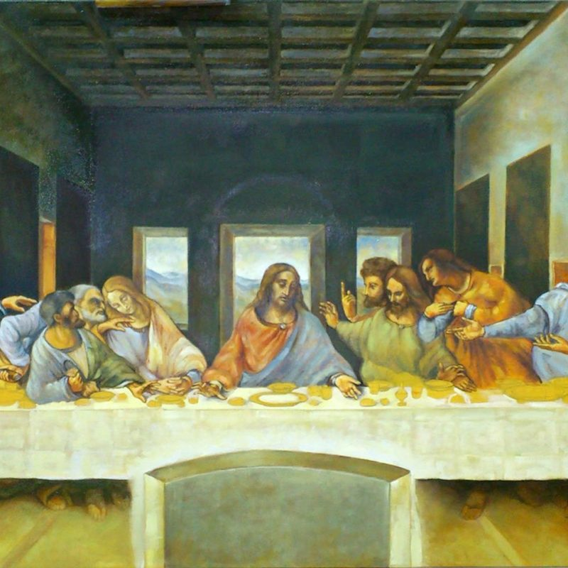 10 Top Last Supper Images Original Picture FULL HD 1920×1080 For PC Desktop 2020 free download fine art last supper original oil painting on canvasartist 800x800