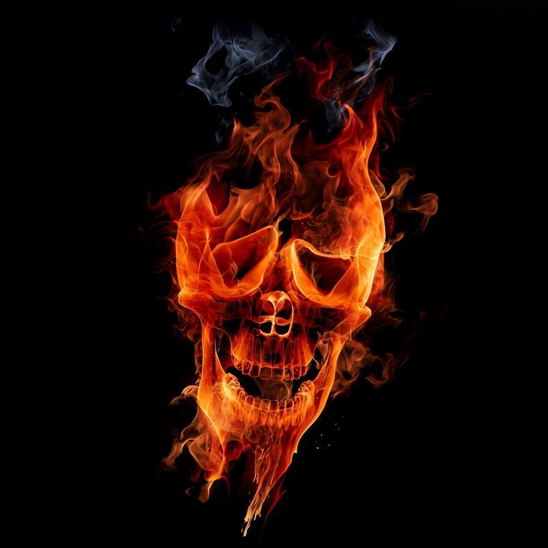 10 Top Skull On Fire Wallpaper FULL HD 1920×1080 For PC Background 2018 free download fire skull e29da4 4k hd desktop wallpaper for 4k ultra hd tv e280a2 tablet 800x800
