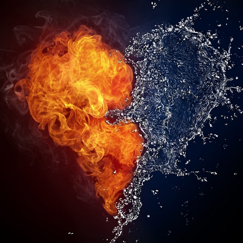 10 New Fire And Water Wallpapers FULL HD 1920×1080 For PC Desktop 2018 free download fire water heart art hd artist 4k wallpapers images backgrounds 800x800