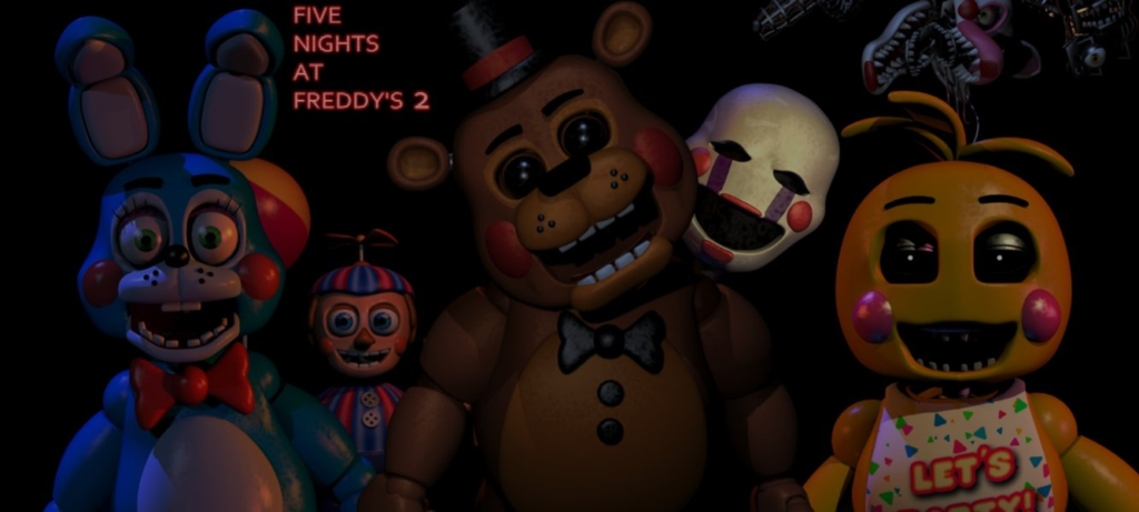 10 New Five Nights At Freddy's Wallpaper FULL HD 1080p For PC Desktop 2018 free download five nights at freddys 2 toy wallpaperelsa shadow on deviantart 1024x461