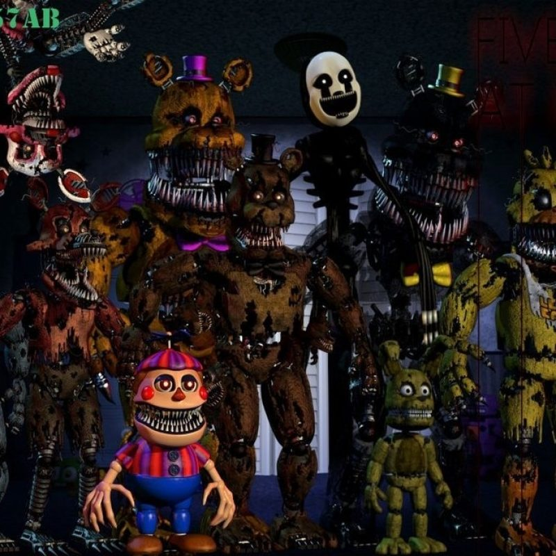 10 Top Five Night At Freddy Wallpaper FULL HD 1920×1080 For PC Background 2020 free download five nights at freddys 4 wallpaperstencil0057ab on deviantart 800x800