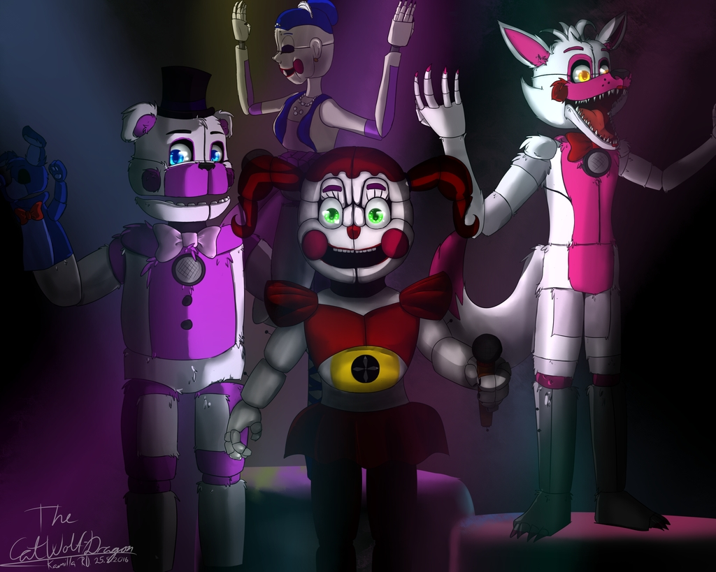 10 New Five Nights At Freddy's Sister Location Wallpaper FULL HD 1920×1080 For PC Desktop 2018 free download five nights at freddys sister location wallpaper 1 1024x819