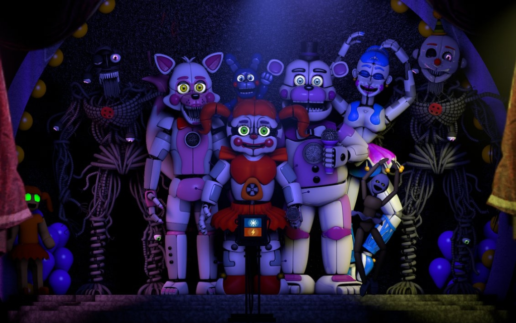 10 New Five Nights At Freddy's Sister Location Wallpaper FULL HD 1920×1080 For PC Desktop 2018 free download five nights at freddys sister locationpapapo165 on deviantart 1024x640