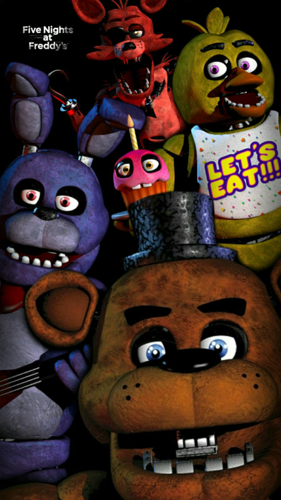 10 New Five Nights At Freddy's Wallpaper FULL HD 1080p For PC Desktop 2018 free download five nights at freddys wallpapergarebearart1 on deviantart 576x1024