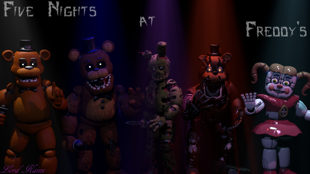 10 New Five Nights At Freddy's Sister Location Wallpaper FULL HD 1920×1080 For PC Desktop 2018 free download five nights at freddys wallpaperlord kaine on deviantart 1024x576
