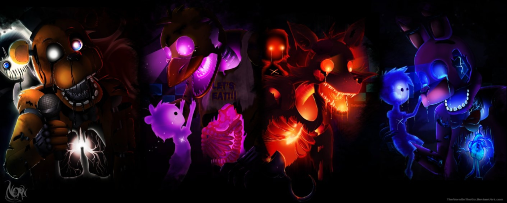 10 New Five Nights At Freddy's Wallpaper FULL HD 1080p For PC Desktop 2018 free download five nights at freddys wallpaperthenornonthego on deviantart 1024x411