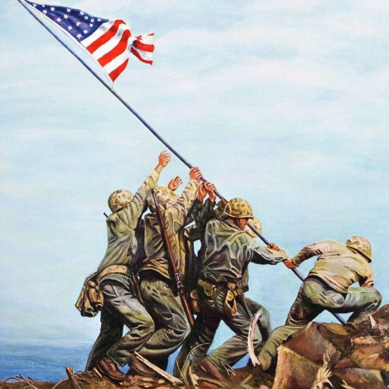 10 New Raising The Flag On Iwo Jima In Color FULL HD 1920×1080 For PC Desktop 2018 free download flag raising on iwo jima red white blue forever pinterest 800x800
