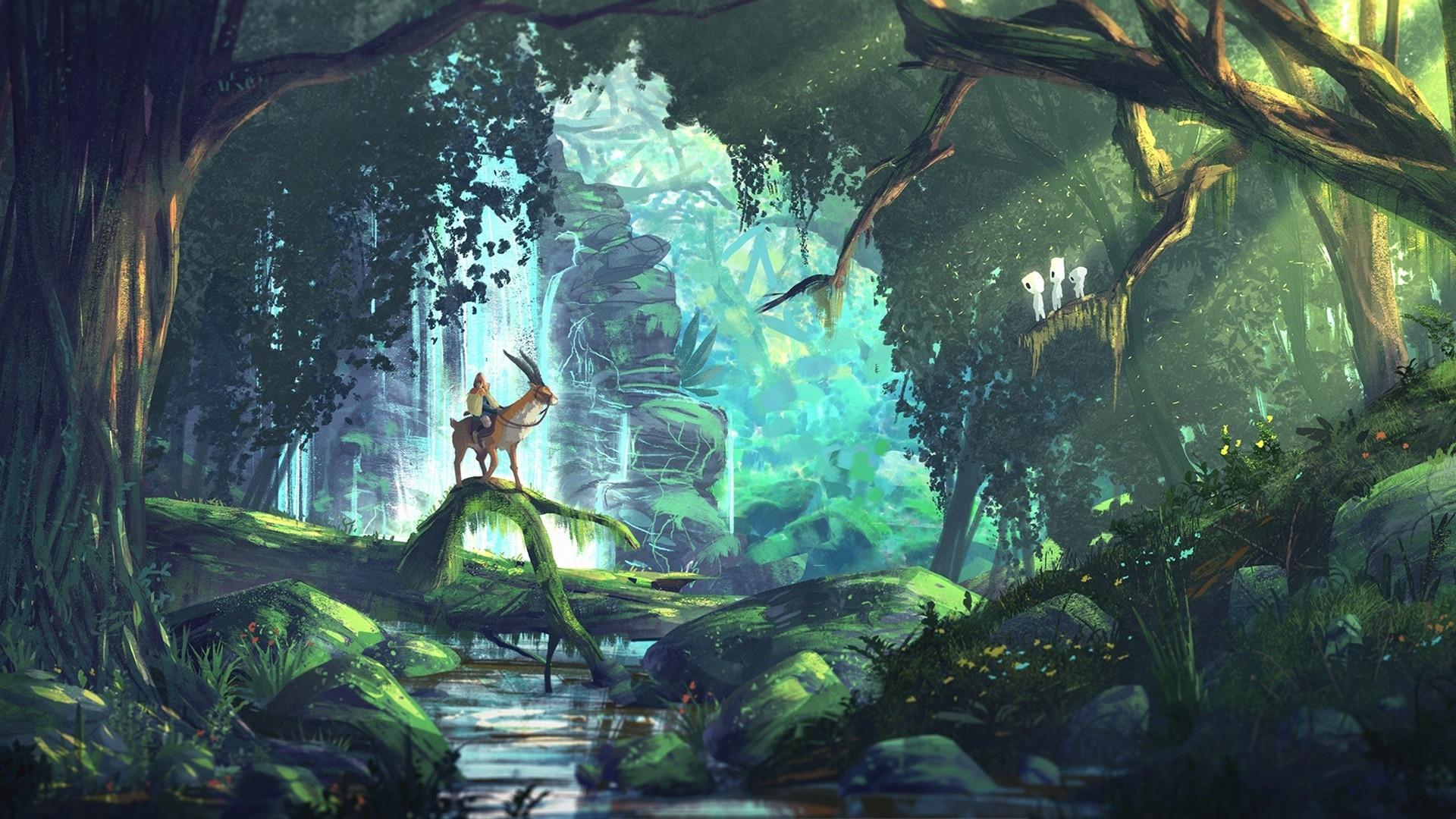 10 Latest Miyazaki Princess Mononoke Wallpaper FULL HD 1080p For PC Desktop