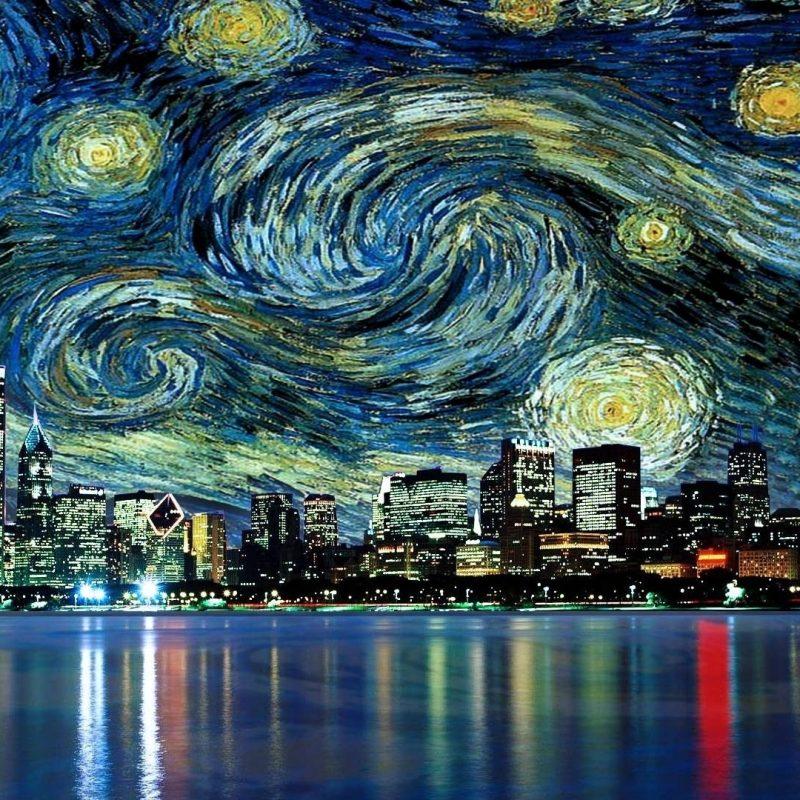 10 Latest Vincent Van Gogh Wallpaper Hd FULL HD 1080p For PC Background 2018 free download fond decran 1920x1080 px chicago paysage urbain films la 800x800