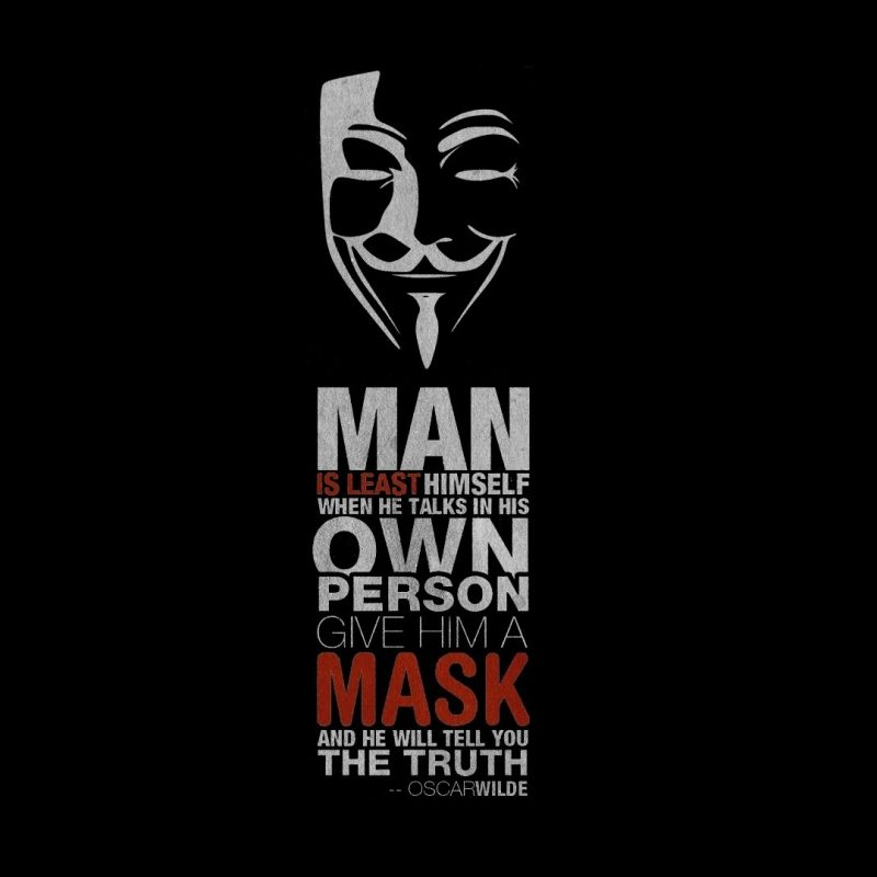 10 Latest Vendetta Wall Paper FULL HD 1920×1080 For PC Desktop 2018 free download fond decran 1920x1080 px oscar wilde citation v pour vendetta 800x800