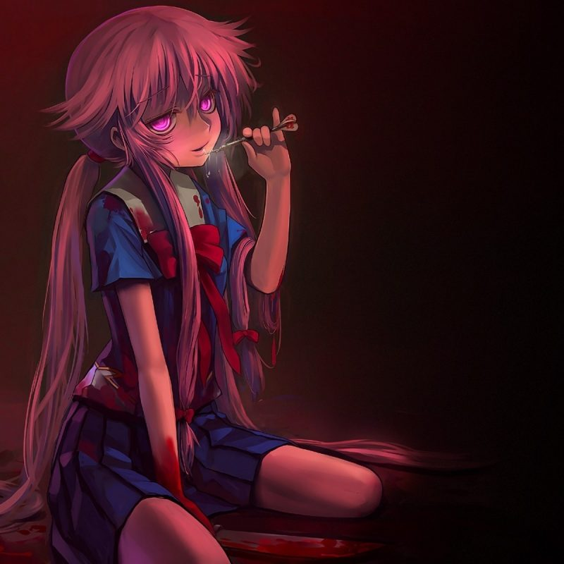 10 Most Popular Yuno Gasai Wallpaper Yandere FULL HD 1920x1080 For PC Desktop 2018