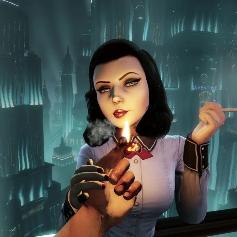 10 Best Bioshock Infinite Elizabeth Wallpaper FULL HD 1920×1080 For PC Desktop 2018 free download fond decran art numerique jeux video cigarettes elizabeth 800x800