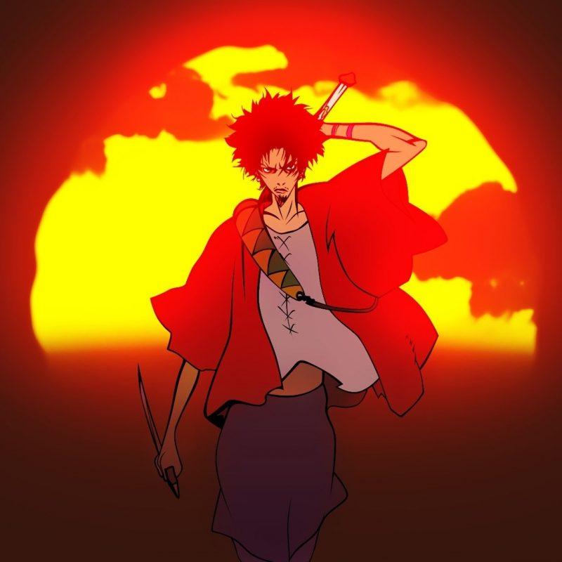 10 Most Popular Samurai Champloo Mugen Wallpaper FULL HD 1080p For PC Desktop 2018 free download fond decran illustration le coucher du soleil anime rouge 800x800