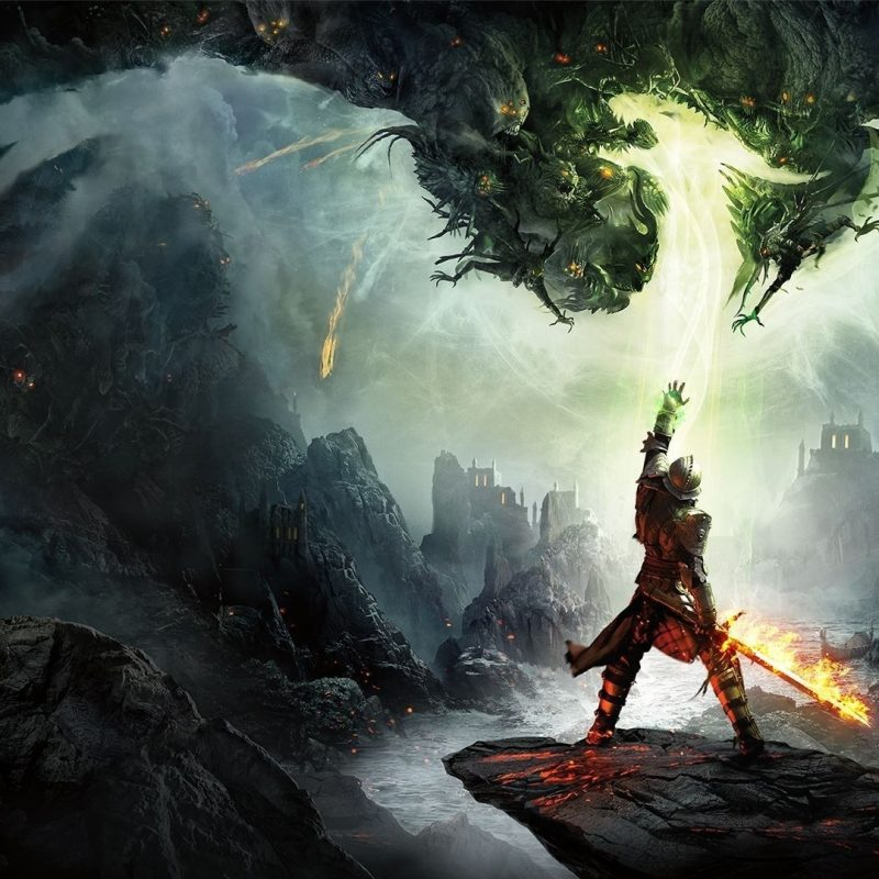 10 Best Dragon Age Inquisition Wallpapers FULL HD 1920×1080 For PC Background 2020 free download fond decran jeux video art fantastique feu dragon age dragon 800x800