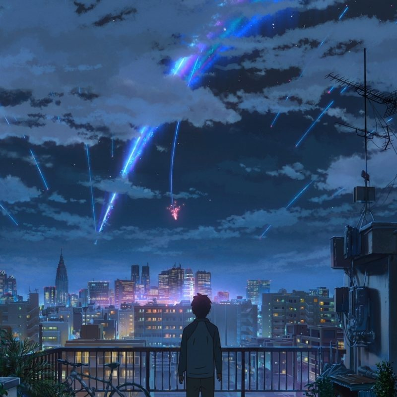 10 New Kimi No Na Wa Wallpapers FULL HD 1920×1080 For PC Background 2018 free download fond decran kimi no na wa makoto shinkai nuit etoilee comete 800x800