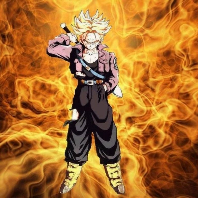 10 Best Dragon Ball Z Trunks Wallpaper FULL HD 1080p For PC Background 2020 free download fond decran trunk super saiyen wallpaper 800x800