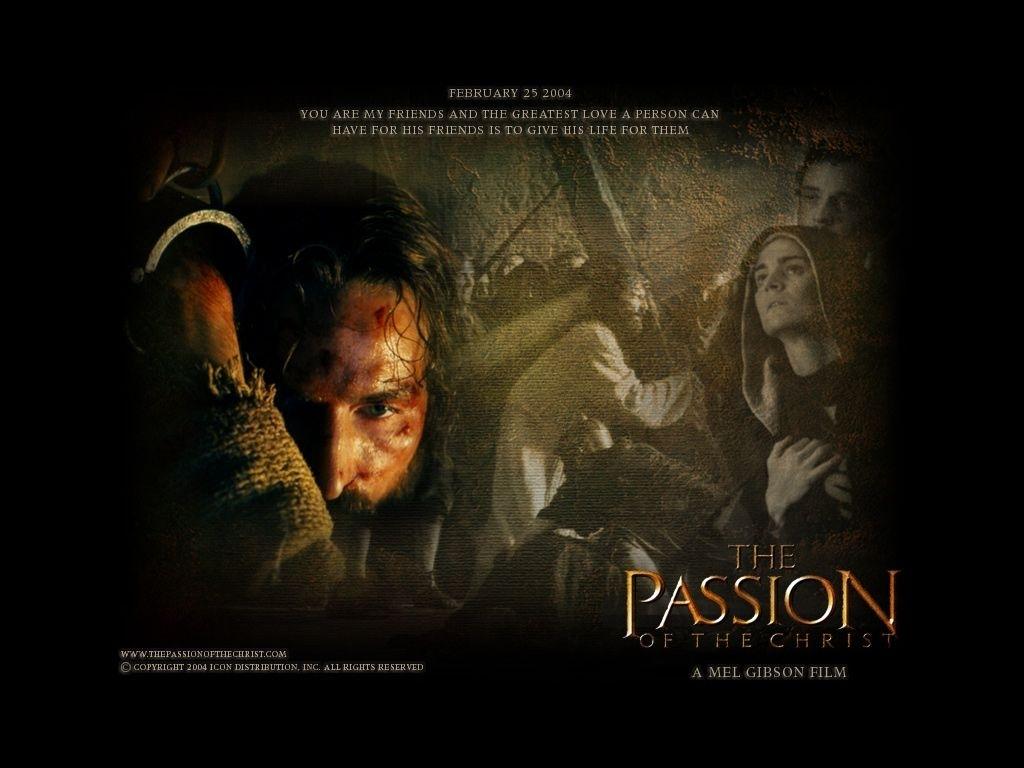fonds d'écran du film la passion du christ - wallpapers cinéma