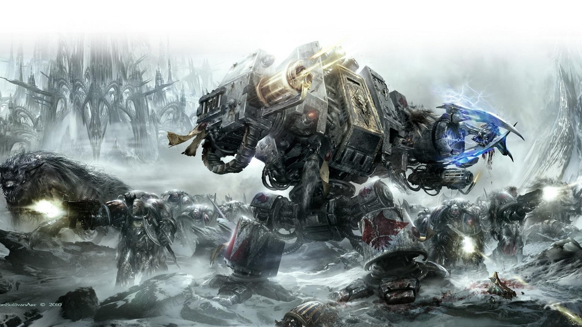 fonds d'écran warhammer 40000: space marine hd hd, image